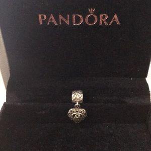 Pandora Couple in a heart charm